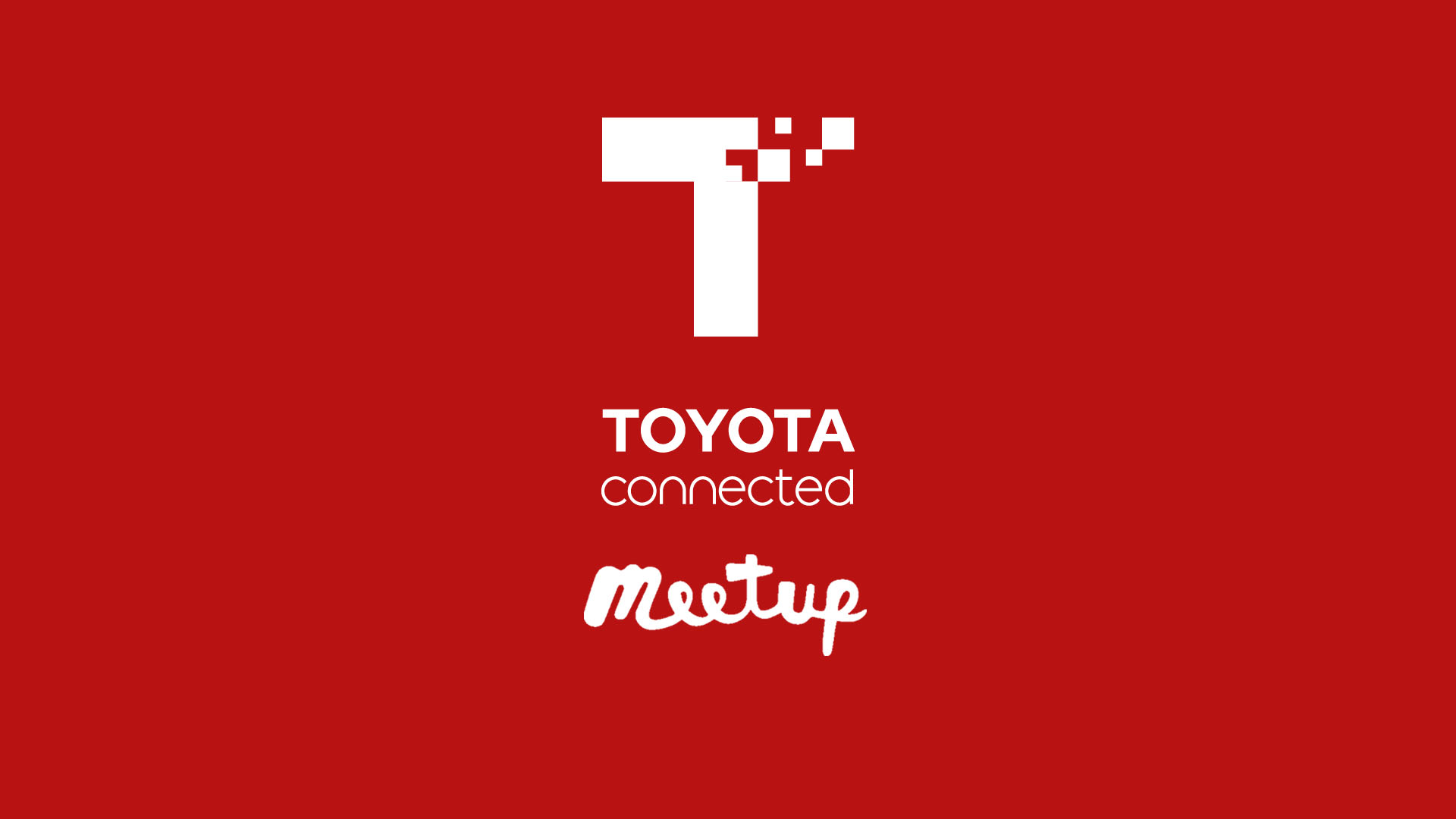 Toyota Connected Meetup March 2019